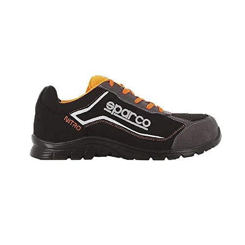 Sparco - Zapatillas Nitro S3 Black/Gris talla 46