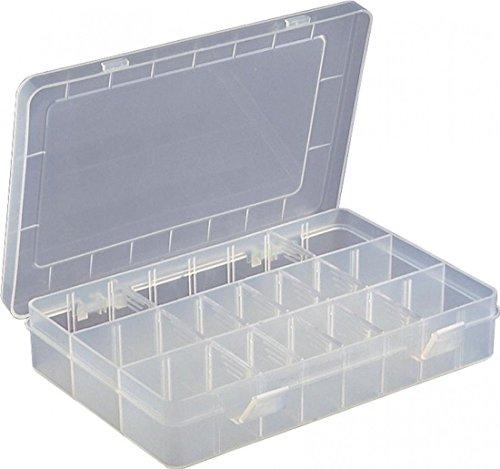 15 Raster Sortierbox Sortimentsboxen Einstellbar Fächer für die Schmuck, Perlen und andere Mini waren Sortierkästen Schmuckschatulle Werkzeugcontainer