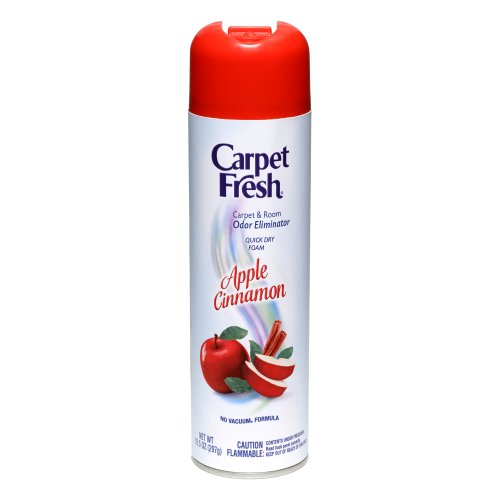 Carpet Fresh No-vacuum Apple Cinnamon Carpet Refresher,10.5-Ounce Can (Pack of 12)
