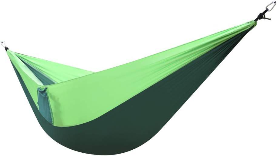 store iSamHome Camping Hammock Nylon Fabric Parachute Double trust w