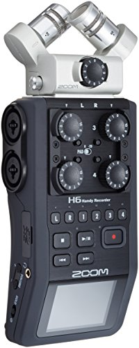 Gravador Digital Zoom H6 Handy Recorder