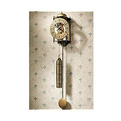 26 Clasic Antiqued Decorative 16th Century Templeton Regulator Wall Clock