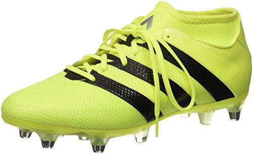 adidas Herren Ace 16.2 Primemesh Fußball-Trainingsschuhe, Multicolore (SYELLO/Cblack/Silvmt), 42 EU