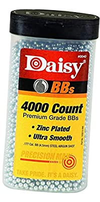 Daisy Ammunition and CO2 40 4000 ct BB Bottle, [New Version]