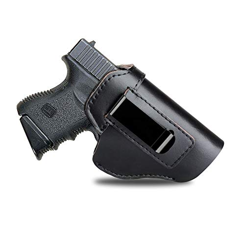 GY Pistola Pistol, Cuero Oculto Carrera Pistola IWB Funda para Glock 17 19 22 23 43 Sig Sauer P226 P229 Ruger Beretta 92 M92 (Color : Black, Size : 10.5 * 13cm)