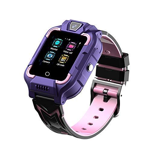 Reloj Inteligente para niños Cámara Digital Función de Video y teléfono/Podómetro/Sos/Modo Aula/Alarma/Reloj de Pulsera Impermeable antipérdida, Adecuado para niños y niñas