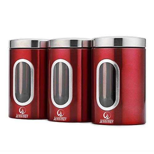 La mejor comparación de Recipiente hermetico rojo los más recomendados. 8