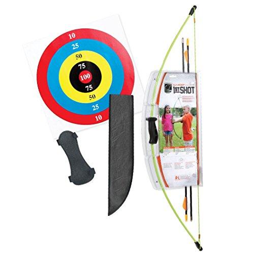 Bear Archery 1st Shot Youth Bow Set – Flo Green