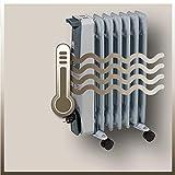 Einhell Ölradiator MR 715/2 (bis 1.500 Watt, 3 Heizstufen, stufenloser Thermostatregler, fahrbar, Kipp- und Überhitzungsschutz, Betriebsanzeige) - 8