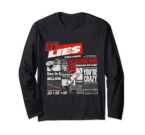 Guns N' Roses Official Lies Long Sleeve Shirt Long Sleeve T-Shirt
