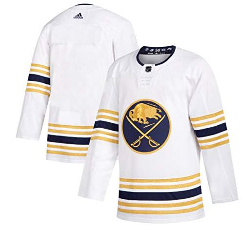 adidas Buffalo Sabres White 50th Season Authentic Jersey (50/M)