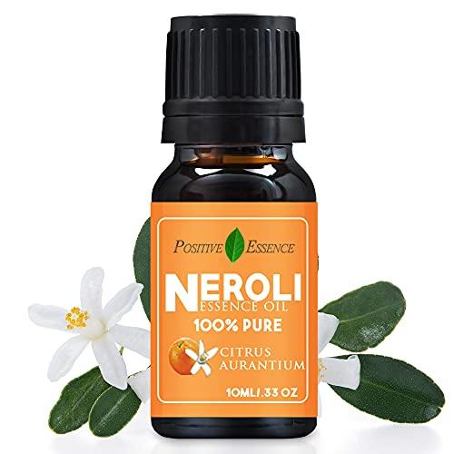 Neroli Essence Oil, Citrus Aurantium Essence Oil, Relaxing Scent, 100%...
