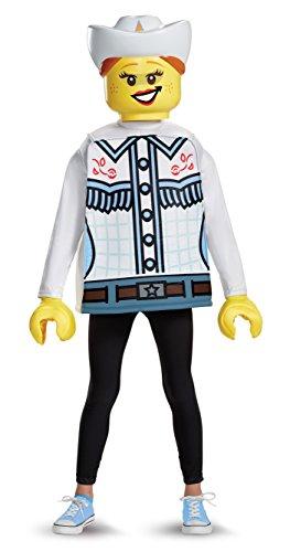 LEGO 18474l Classic–Disfraz vaquera tamaño