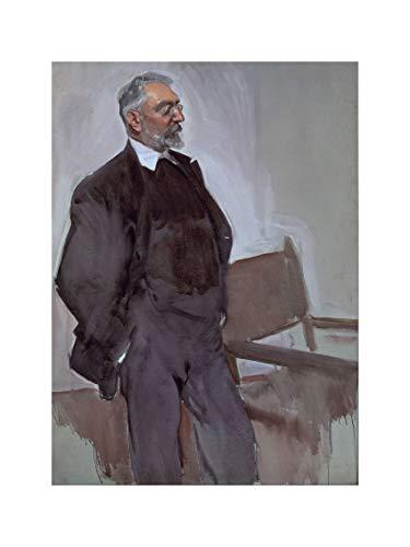 Joaquin Sorolla - Portrait Of Miguel De Unamuno/Print 60x80cm