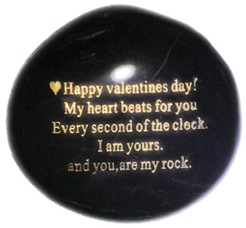 Valentine's Day Engraved Rock
