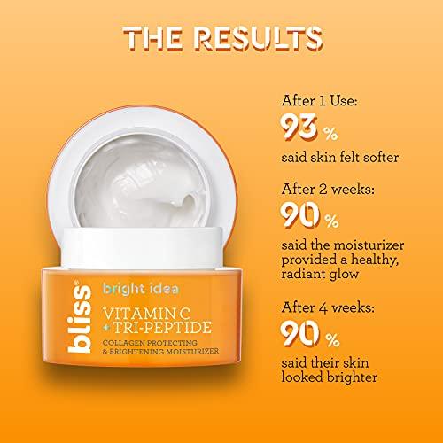 Bliss Bright Idea Vitamin C & Tri-Peptide Collagen-Protecting & Brightening Moisturizer