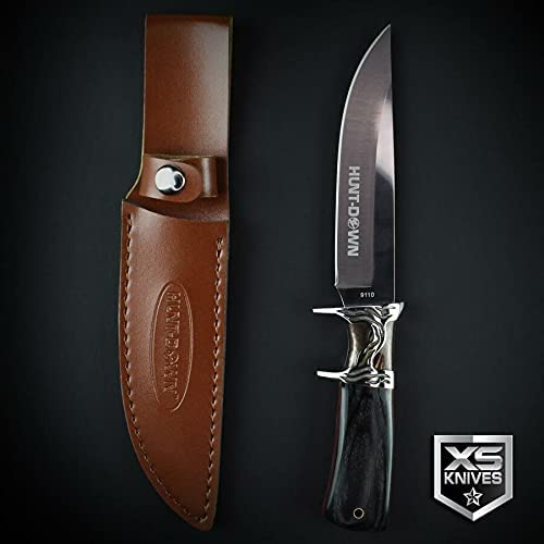Sales for sale Black Wood Ornate All stores are sold Survival Fixed Blade Hunting Sh Sub Knife Hilt