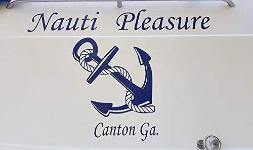 BestPricedDecals Boat (Custom Name) ~ 11' x 36' (Customizable)