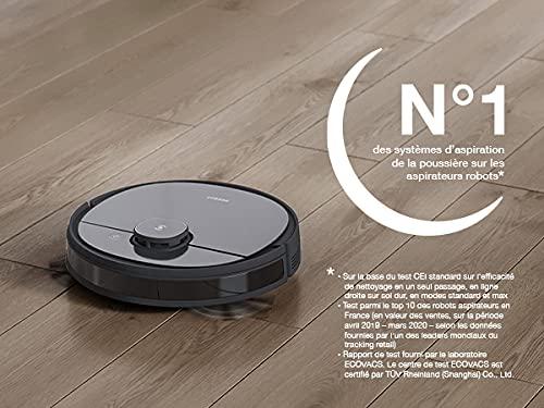 ECOVACS DEEBOT OZMO 950 – Care – Robot aspirateur & balai + 50 chiffons de nettoyage – avec navigation intelligente – Google Home, commande Alexa & App