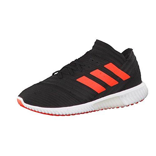 adidas Herren Nemeziz Tango 17.1 Trainers Street Fußballschuhe, Schwarz Schwarz Rot Weiß Schwarz Rot Weiß, 44 EU