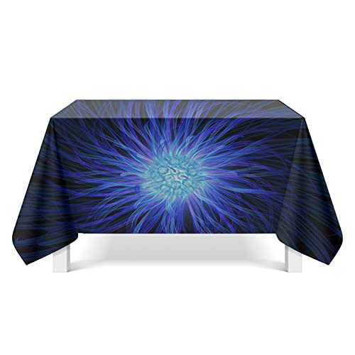 CYYyang Table Cover Protector for Table/Desk Table Pads Spiral texture art