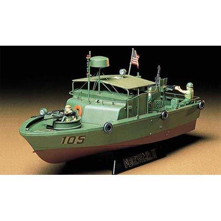 Tamiya 300035150 - Modellino imbarcazione US Navy PBR 31 MK.II Pibber Vietnam, Scala 1:35