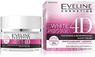 EVELINE WHITE PRESTIGE 4D INTENSIVE WHITENING NIGHT CREAM 50ML