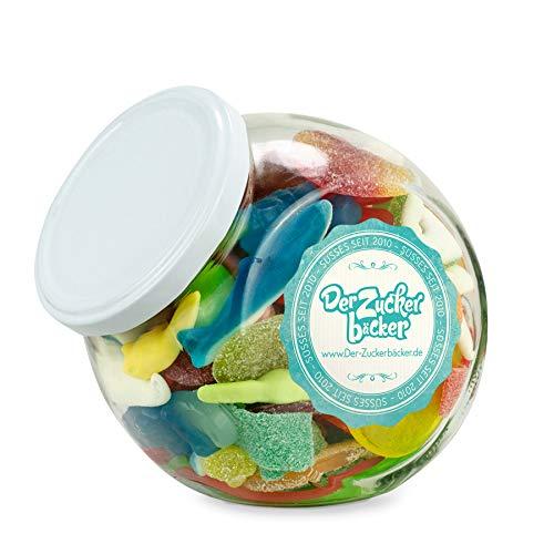 Kleine Freude - Bonbon-Glas 500g leckere Süßigkeiten-Mischung im nostalgischen Glas