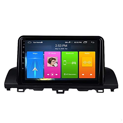 MGYQ 9 Pulgadas De Pantalla Táctil Reproductor De Video Multimedia Soporte AUX Input/FM/BT/USB/WiFi/SWC/Mirror Link/Dab+/OBD2, para Honda Accord 2018 Radio De Coche,Quad Core,4G WiFi 2+32