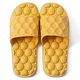 Zapatillas Casa Chanclas Sandalias Sandalias De Baño para Mujer, Suela Suave, Baño Interior, Antideslizante, Zapatillas De Casa para Hombre, Zapatillas De Casa, Zapatillas para Hombre-Yellow_36-3