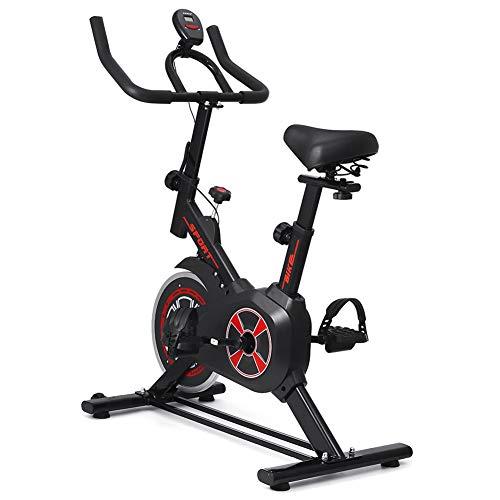 YBZS Bicicletas Estáticas para El Hogar, Bicicletas Estáticas Estáticas para Bajar De Peso/Entrenamiento Silencioso De Deportes En Interiores Bicicletas De Ciclismo, Pantalla Digital con Pantalla Led