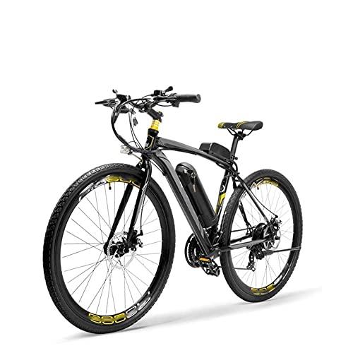 WXDP - Bicicleta eléctrica autopropulsada para adultos, freno de doble disco 26 pulgadas, bicicleta de viaje, ciudad, Ebike 300 W, 36 V, batería extraíble, antirrobo, unisex, gris, 20 AH