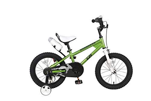 JOEY Hopper 16 inch Kid's Bicycle, Green, Children's Bike