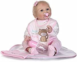 Lilith Rare Alive Handmade Reborn Baby Doll Girl Blonde Hair Real Lifelike Looking New Born Dolls Magnetic Mouth