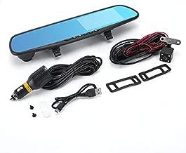 HoganeyVan Car DVR Mirror Dual Camera 4.3