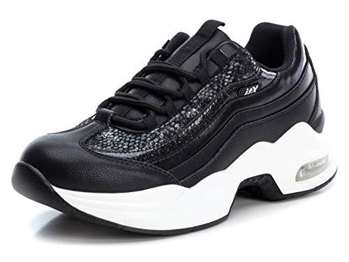 XTI 49272, Zapatillas Mujer, Negro, 41 EU