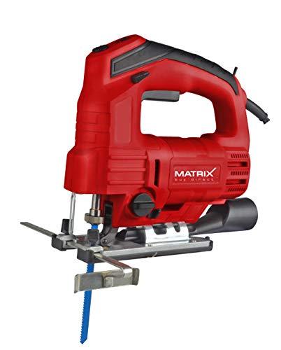 Matrix 130100240 Pendelhub, 800 Watt, Schnittwinkel einstellbar, LED Licht, Laser, inkl. Sägeblatt, W, 230 V