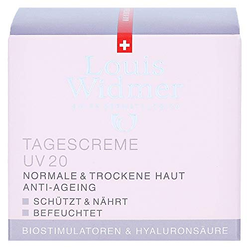 Widmer Tagescreme UV20 leicht parf�miert, 50 ml