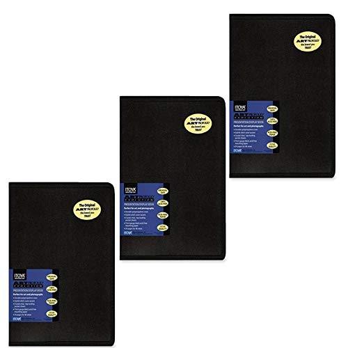 3 Pack ITOYA EV-12-11 Art Profolio Evolution Display Album 11x14 24 Pages