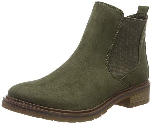 MARCO TOZZI Damen 2-2-25490-23 Chelsea Boots, Grün (Khaki Comb 726), 39 EU