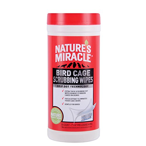Nature's Miracle 30 Count Bird C...