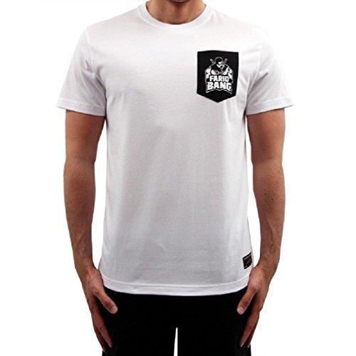 Farid Bang Logo Tasche T-Shirt Weiss (XL)