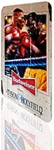 Uptell Metal Sign Mike Tyson Evander Holyfield Beer Budweiser Poster Classic Boxing Rusted
