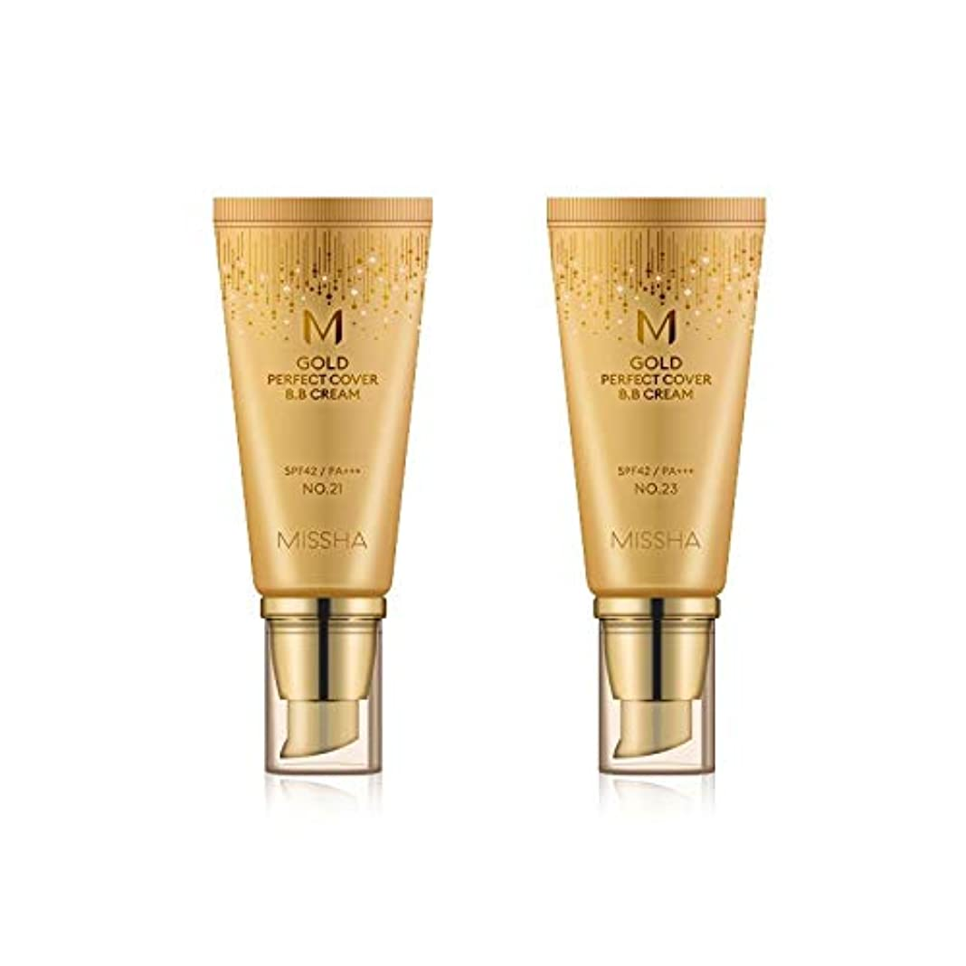 ホット聞く政策MISSHA Gold Perfecte Cover BB Cream SPF42 PA+++ / ミシャ ゴールド パーフェクト カバー BBクリーム 50ml *NO.21 [並行輸入品]