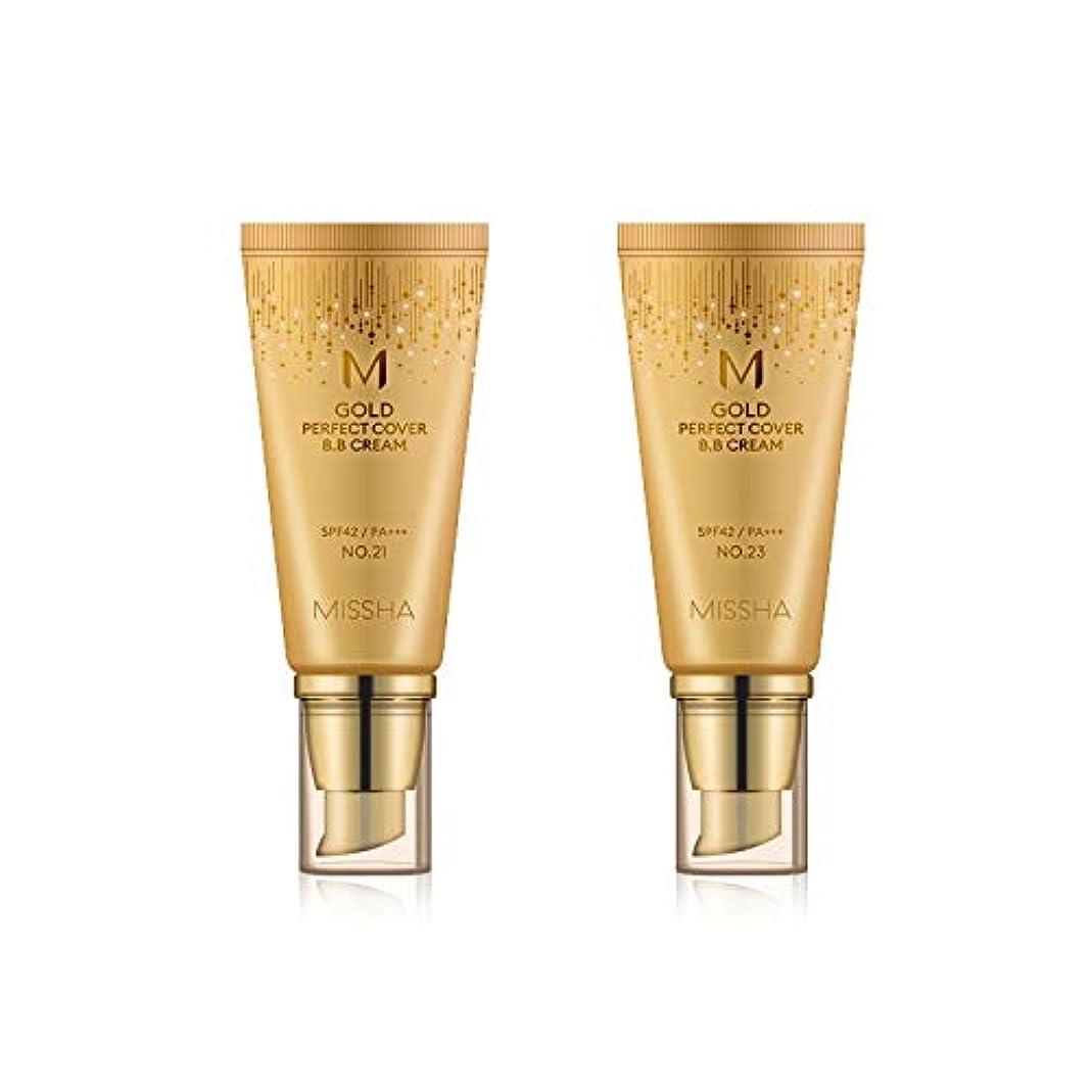 納得させる泣くイノセンスMISSHA Gold Perfecte Cover BB Cream SPF42 PA+++ / ミシャ ゴールド パーフェクト カバー BBクリーム 50ml *NO.21 [並行輸入品]