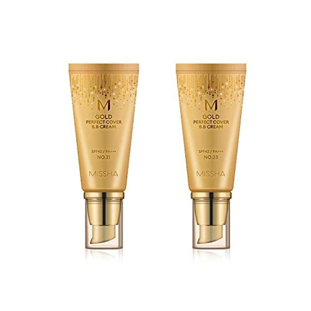に応じて減衰トリップMISSHA Gold Perfecte Cover BB Cream SPF42 PA+++ / ミシャ ゴールド パーフェクト カバー BBクリーム 50ml *NO.23 [並行輸入品]