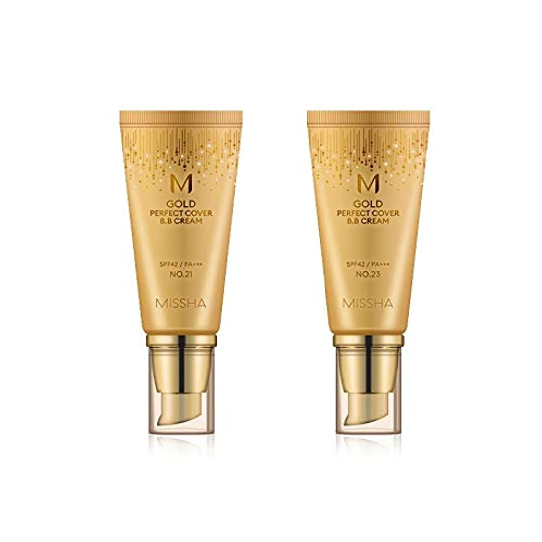 対依存生じるMISSHA Gold Perfecte Cover BB Cream SPF42 PA+++ / ミシャ ゴールド パーフェクト カバー BBクリーム 50ml *NO.21 [並行輸入品]