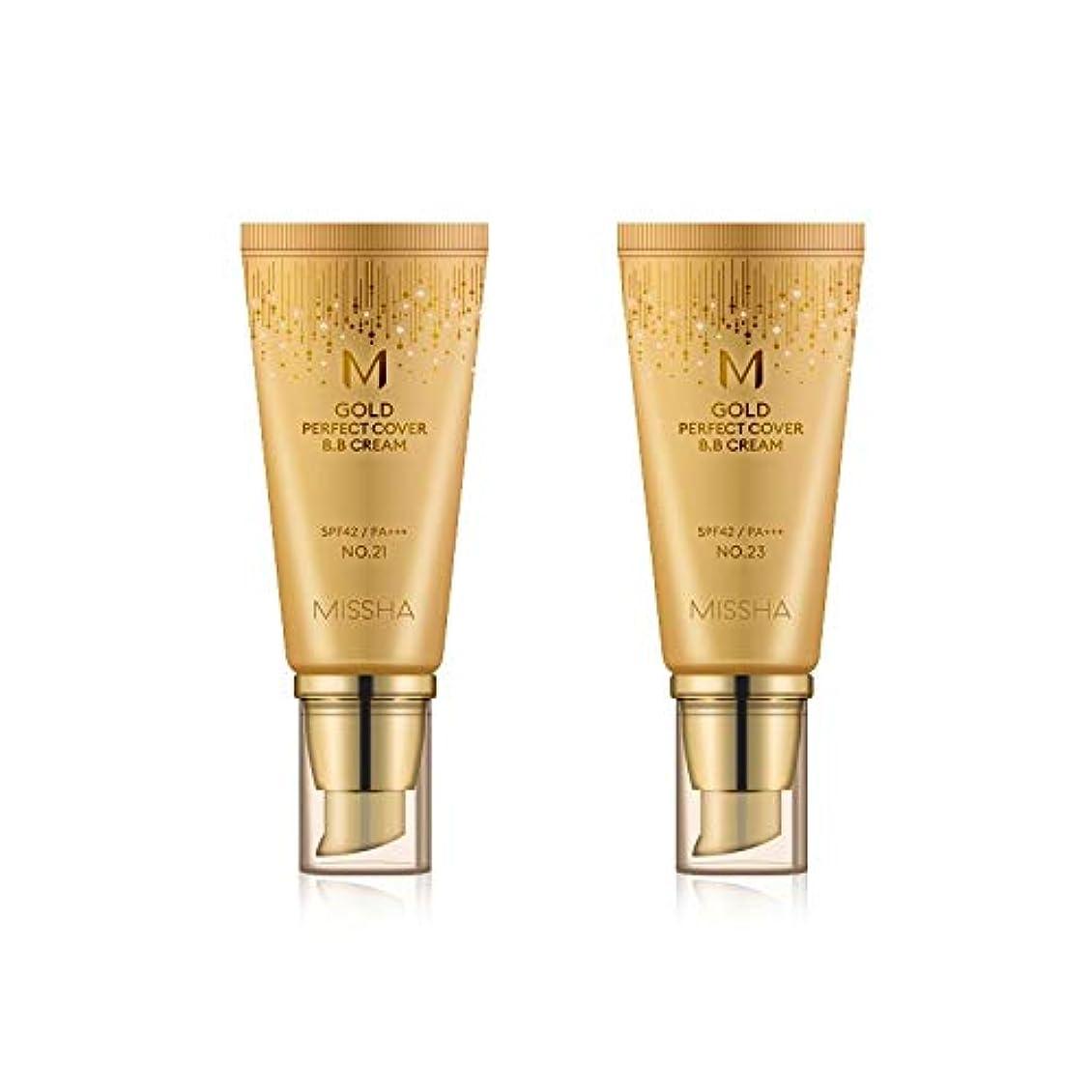 くびれた測定ネットMISSHA Gold Perfecte Cover BB Cream SPF42 PA+++ / ミシャ ゴールド パーフェクト カバー BBクリーム 50ml *NO.21 [並行輸入品]