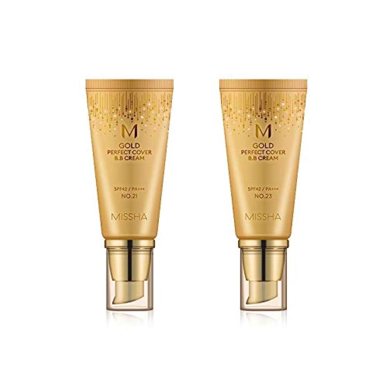 ゴールデン否定する洪水MISSHA Gold Perfecte Cover BB Cream SPF42 PA+++ / ミシャ ゴールド パーフェクト カバー BBクリーム 50ml *NO.21 [並行輸入品]