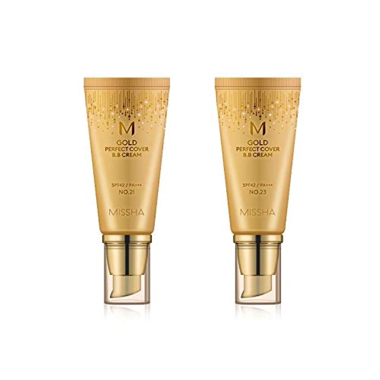 征服する論文ごみMISSHA Gold Perfecte Cover BB Cream SPF42 PA+++ / ミシャ ゴールド パーフェクト カバー BBクリーム 50ml *NO.23 [並行輸入品]